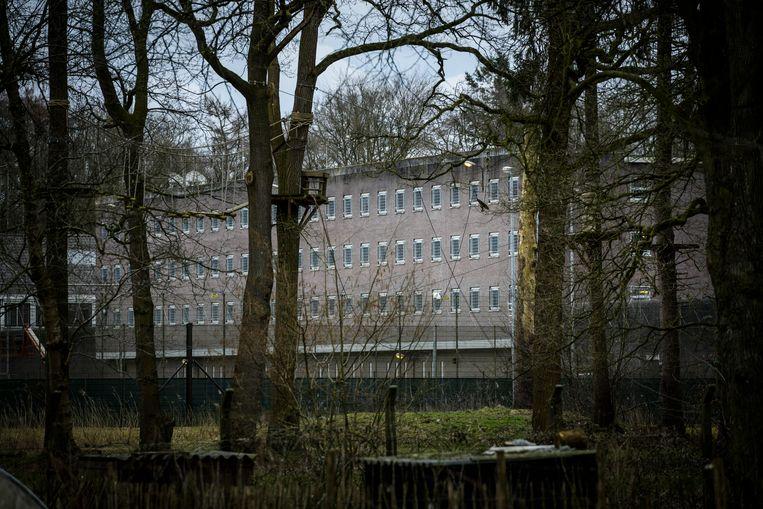 De Penitentiaire Inrichting Veenhuizen, locatie Esserheem.  Beeld Hollandse Hoogte / Kees van de Veen