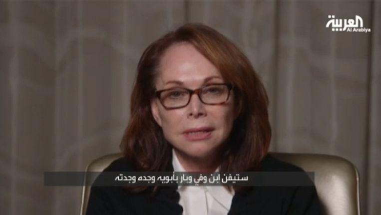 Shirley Sotloff, de moeder van Steven Sotloff Beeld alarabiya.net