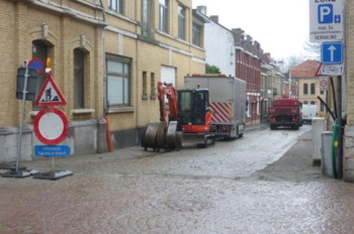 Nieuw fase in rioleringswerken in Ieper.