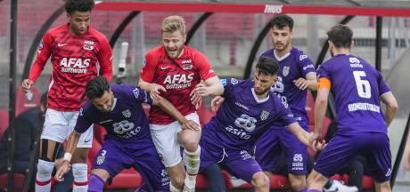 Heracles grijpt naast ticket voor play-offs, AZ sluit seizoen af met fraaie zege