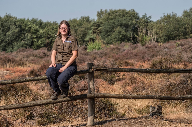 Ellen Luijks van Natuurmonumenten.