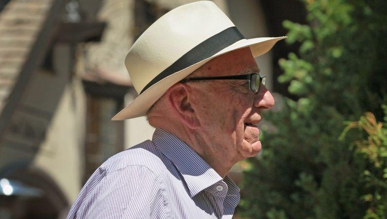 Rupert Murdoch gaat binnenkort zijn thuisland even verlaten. Beeld afp