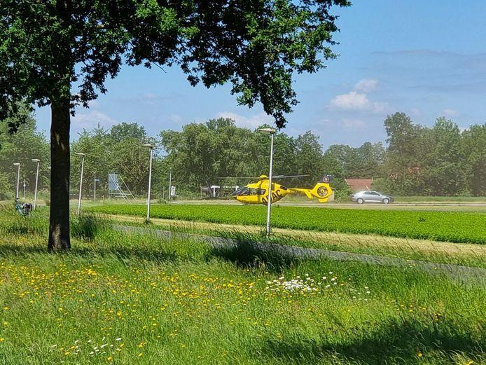 Er is een traumahelikopter geland in Hengelo