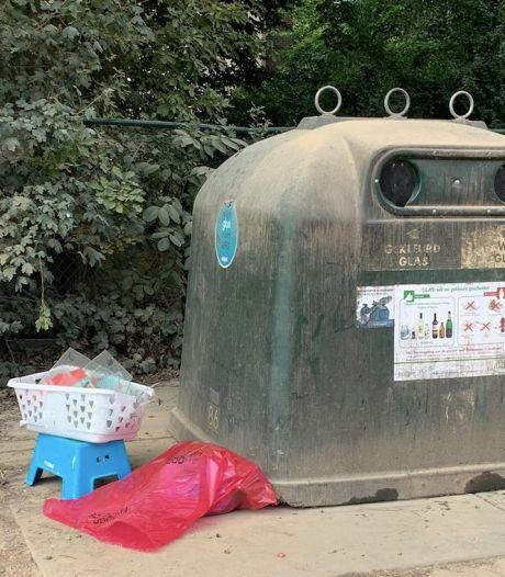 Frituurolie in een glascontainer: sluikstorters op heterdaad betrapt