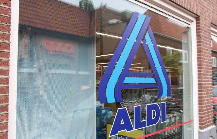 Aldi-supermarkt.