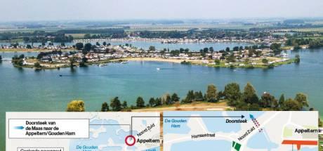 Nieuwe Maasdoorsteek Appeltern: alleen maar voordelen volgens wethouder René Cruijsen