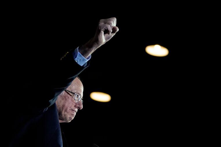Bernie Sanders Beeld Getty Images