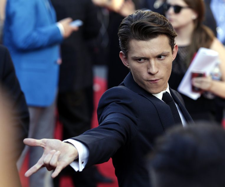 Tom Holland, de huidige Spider-Man-acteur van Marvel Studio's.