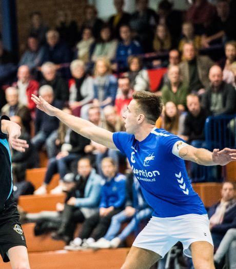 Korfbalclash Oost-Arnhem en KV Wageningen in de hoofdklasse