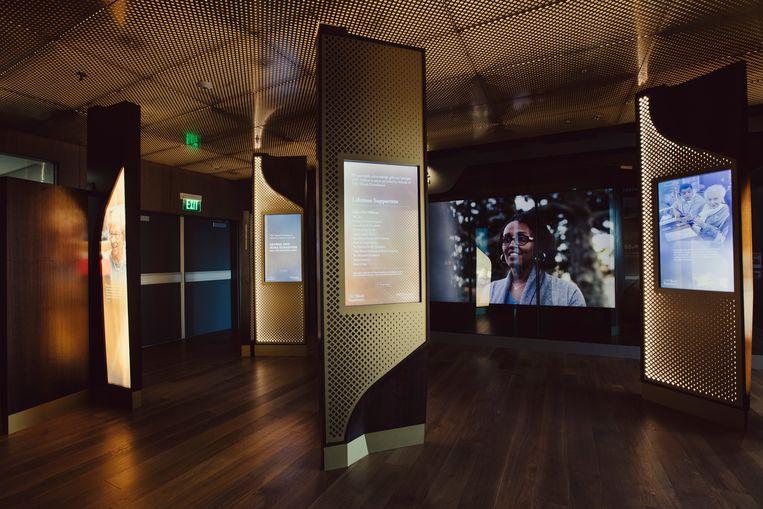 De George and Irina Schaeffer Hall for Genocide Study van de USC Shoah Foundation. 'We doen te weinig om tegen haat in te gaan.'  Beeld NYT / ROZETTE RAGO