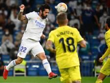 Real Madrid blijft tegen Villarreal steken op gelijkspel