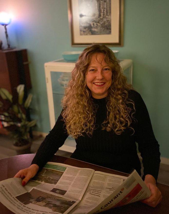 Fractie-assistent Kristel Noordergraaf van LijstvanderDoes.