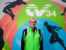 Wim is al 45 jaar een organisatorische duizendpoot bij AV'34, maar beginnende hardlopers trainen doet hij het allerliefste