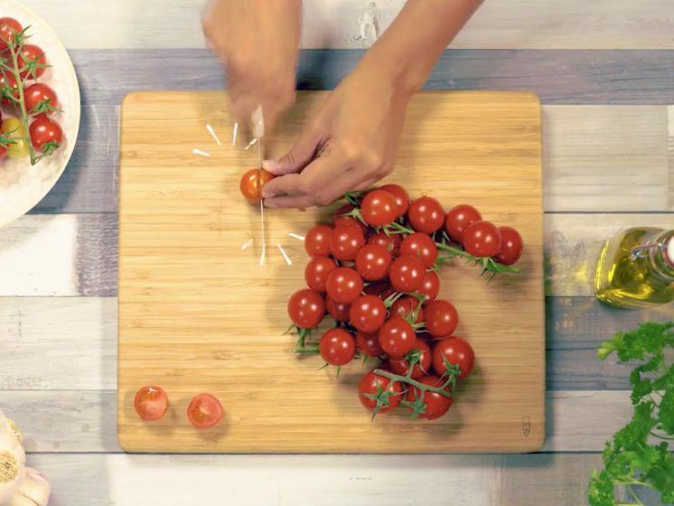 Tomaten snijden was nog nooit zo makkelijk