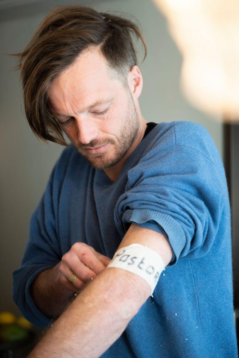 Rikko Voorberg is theoloog, activist en kunstenaar Beeld Bram Petraeus