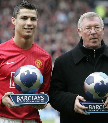 Cristiano Ronaldo naar Manchester United na bemoeienis Alex Ferguson