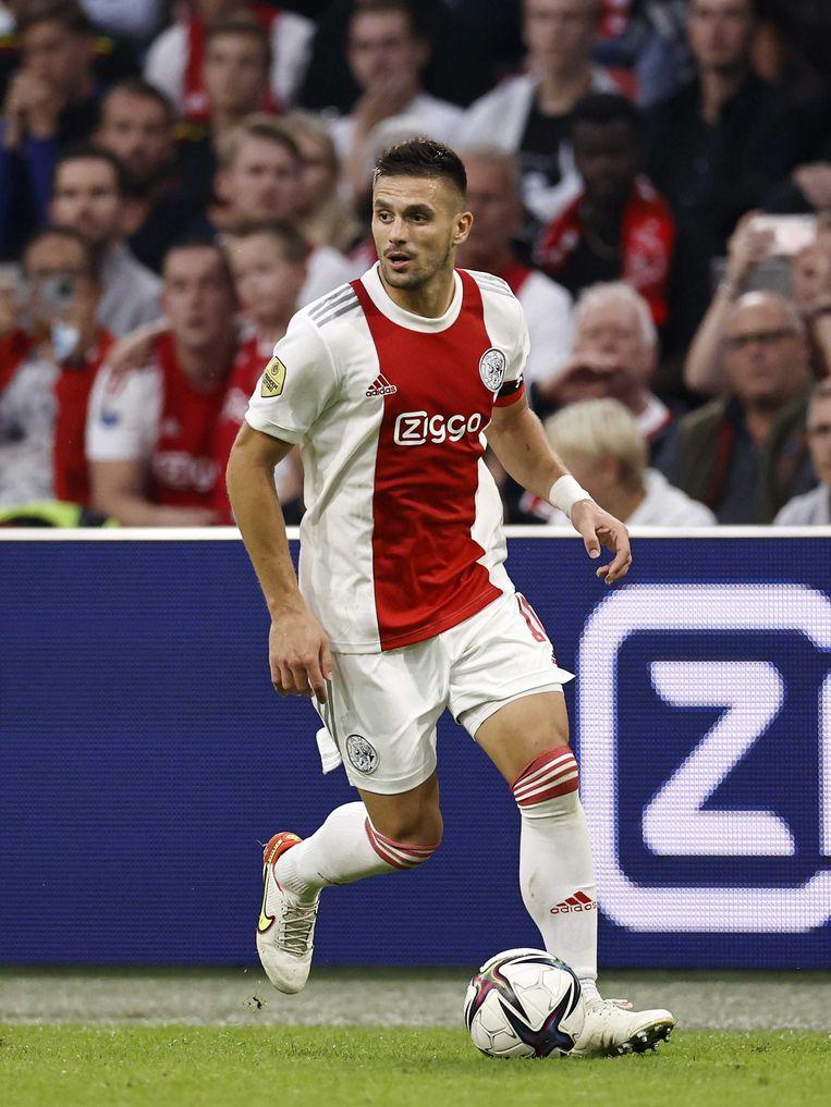Dusan Tadic tijdens de wedstrijd tegen FC Groningen van afgelopen zaterdag. Beeld ANP