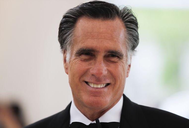 Mitt Romney was bij de Republikeinse voorverkiezingen de grootste uitdager van Trump. Beeld REUTERS