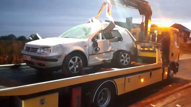 18-jarige in levensgevaar na zware crash in Sint-Lievens-Houtem