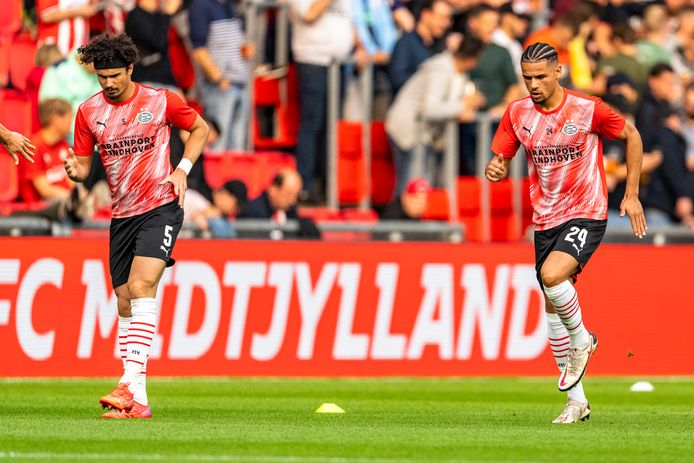 André Ramalho en Armando Obispo bereiden zich voor op het duel met FC Midtjylland.