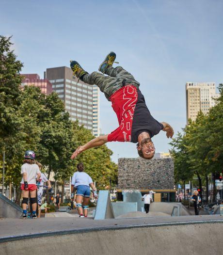 Rotterdammers massaal op wieltjes: 'Als ik sterf, dan het liefst met mijn skates aan'