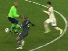Violente collision entre un arbitre et deux joueurs