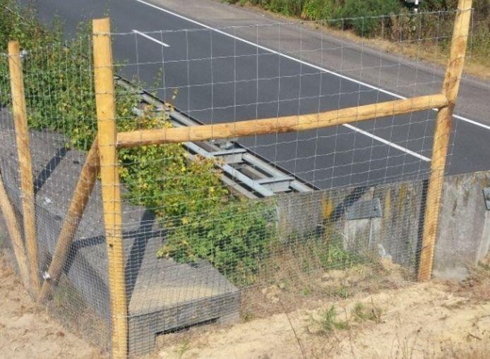 Een raster om kleiner wild zoals reeën van de wegen te houden, komt er ook langs de ringweg in Zoersel