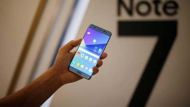 Samsung stopt verkoop nieuwe Galaxy Note 7: batterij kan ontploffen