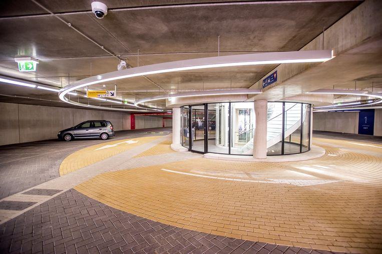 De garage van binnen Beeld Raymond Rutting / de Volkskrant