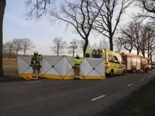 Automobilist gewond bij ernstig eenzijdig ongeluk in Beers