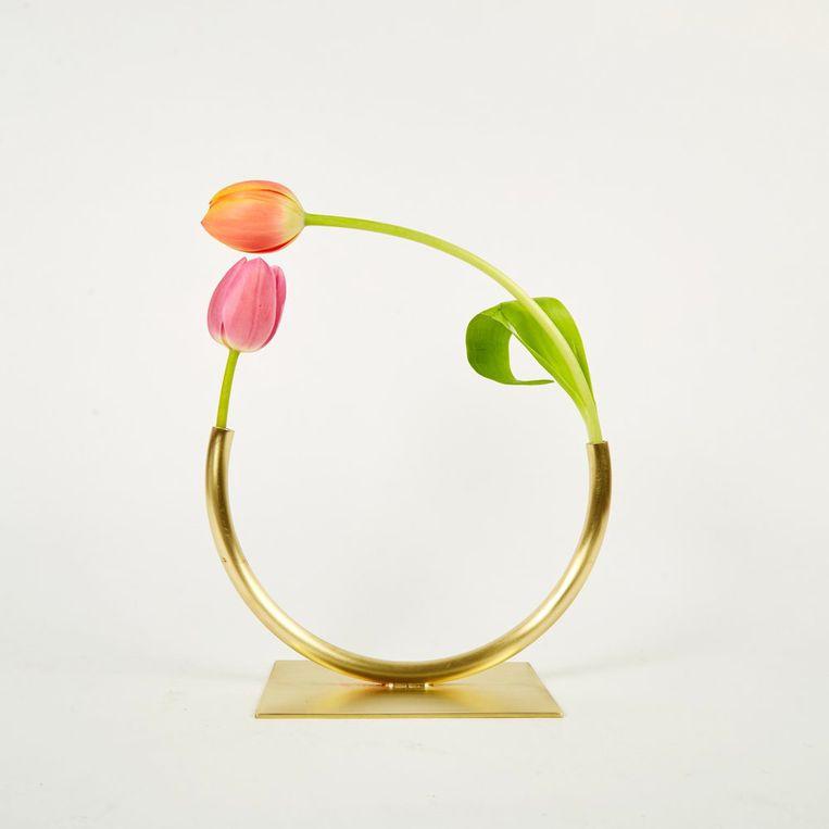 'Vase 904' van ontwerper Anna Varendorff. 14 cm hoog, € 179,50, acvstudio.com Beeld null