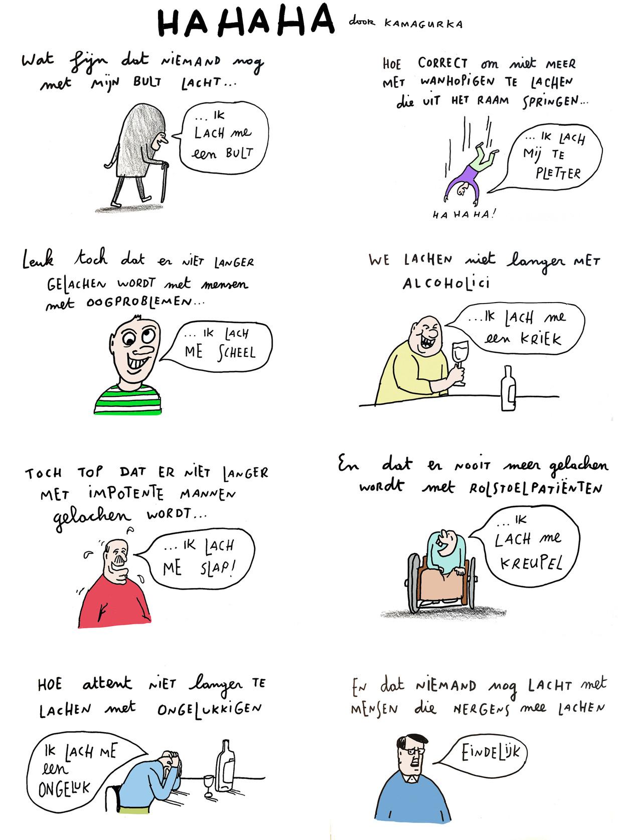 Kamagurka 30: Hahaha Beeld Kamagurka