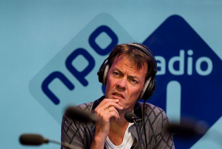 Tijs van den Brink tijdens een interview op 17 oktober. Beeld anp