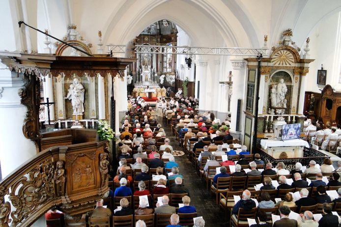 Bij ieder concert zit de kerk van Watou afgeladen vol.