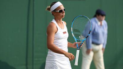 Kirsten Flipkens sneuvelt tegen Ostapenko, de voormalige winnares van Roland Garros
