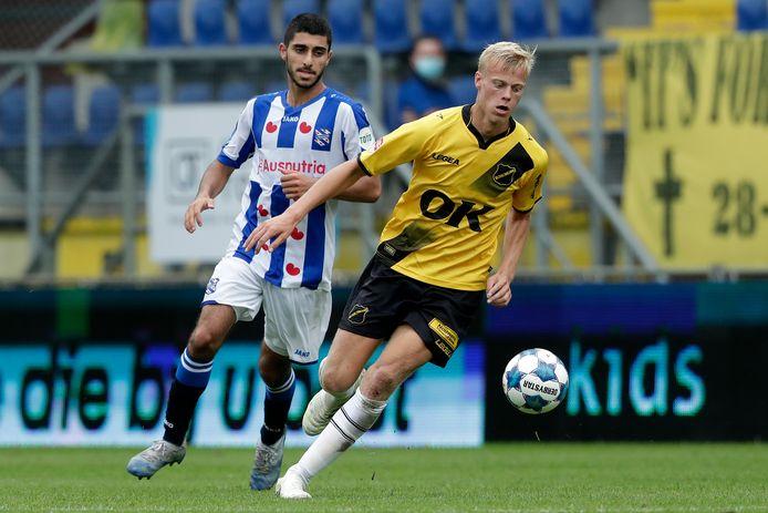 Van Hecke afgelopen zaterdag tegen Heerenveen.
