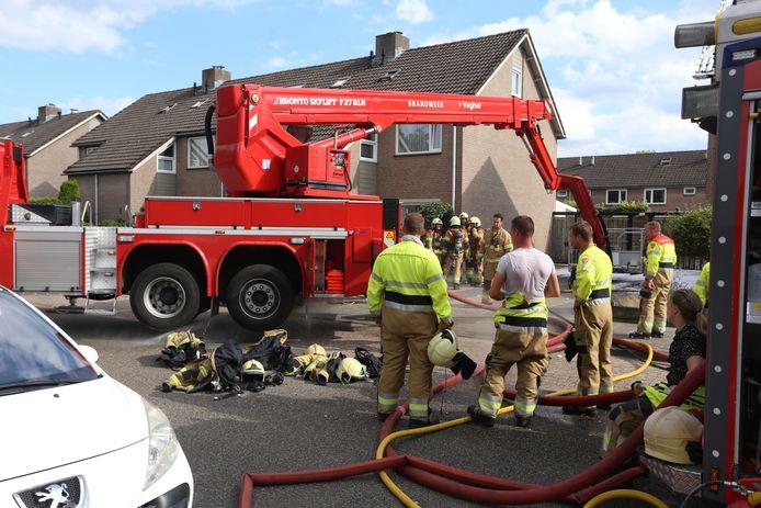 Brand in woning in Sint-Oedenrode