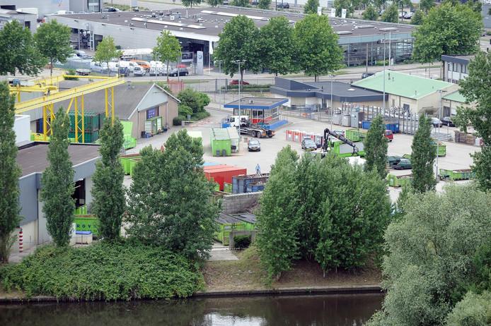 Het huidige terrein van de ROVA.