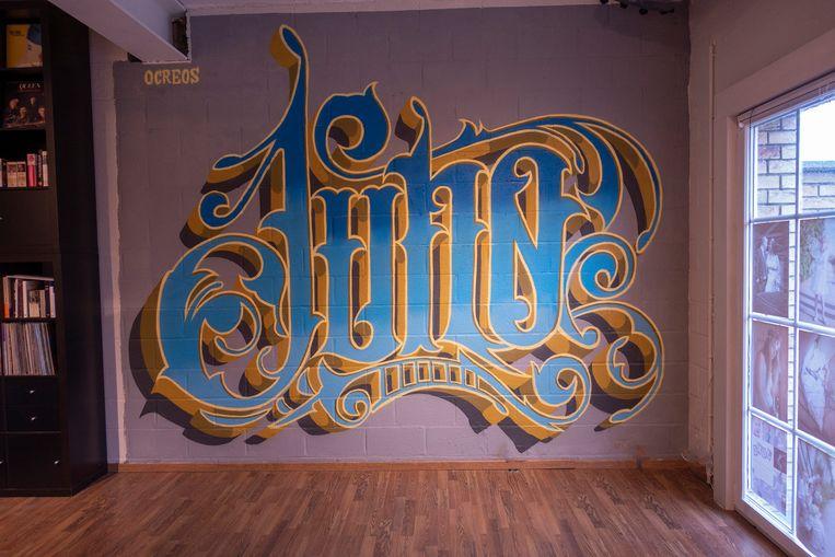 De Brusselse artiest Ocreos ging aan de slag in de studio van fotograaf Juno