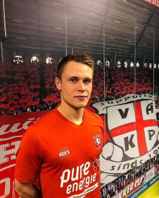 Witbreuk speelde vorig seizoen voor Jong FC Twente.