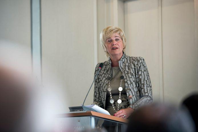 Burgemeester Agnes Schaap van Renkum