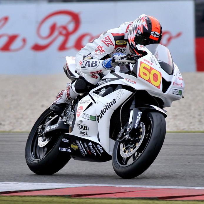Michael van der Mark was zeer succesvol op Ten Kate-motoren. De racetak van het team uit Nieuwleusen is nu failliet verklaard.