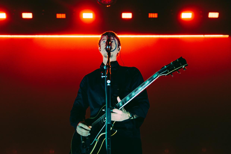 20181128 VorstInterpol treedt op in Vorst Nationaal. Paul Banks - zanger, gitaristSamuel Fogarino - drummer (sinds 2000)Daniel Kessler - gitarist Beeld Illias Teirlinck