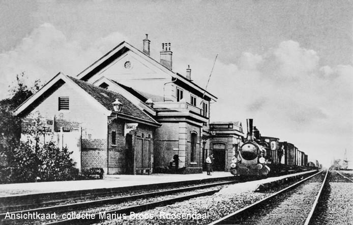 Station Oudenbosch, gebouwd in 1854. Alleen dat van Valkenburg is een jaartje ouder.