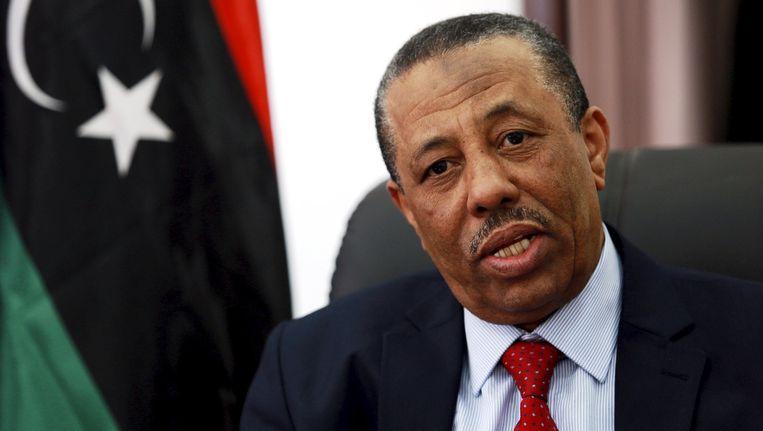 Abdullah al-Thinni. Beeld reuters