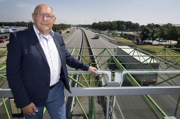 Voorzitter Jan Nijhuis van Stichting Douane Expediteursgebouw