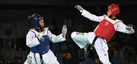Almelose taekwondoka Reshmie Oogink: 'Ben hier niet om mijn tegenstanders zachtjes te aaien'