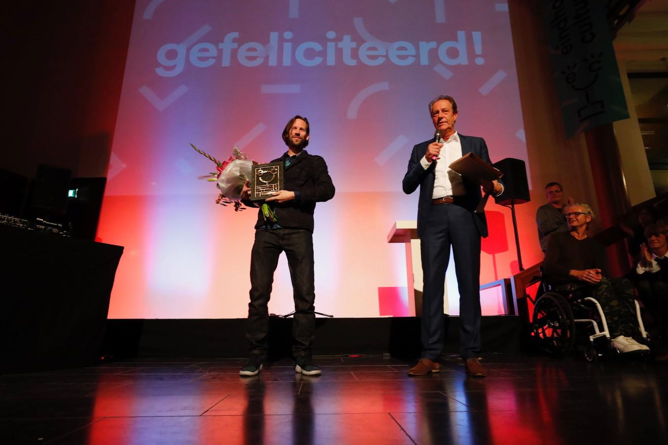 Tijs Rooijakkers wint de Waarderingsprijs
