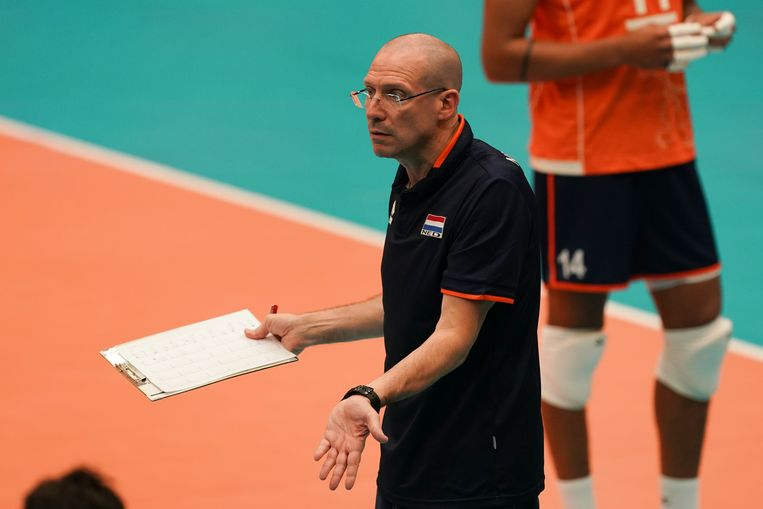 Coach Roberto Piazza. Beeld null