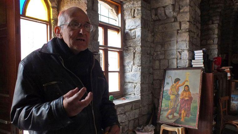 Pater Frans van der Lugt Beeld REUTERS